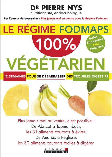 REGIME FODMAPS 100% VEGETARIEN (LE)