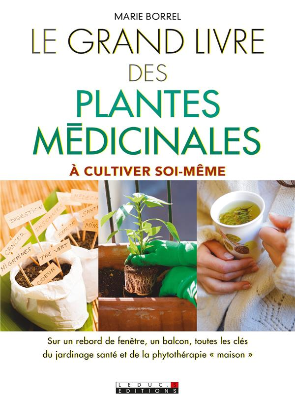 GRAND LIVRE DES PLANTES MEDICINALES (LE)