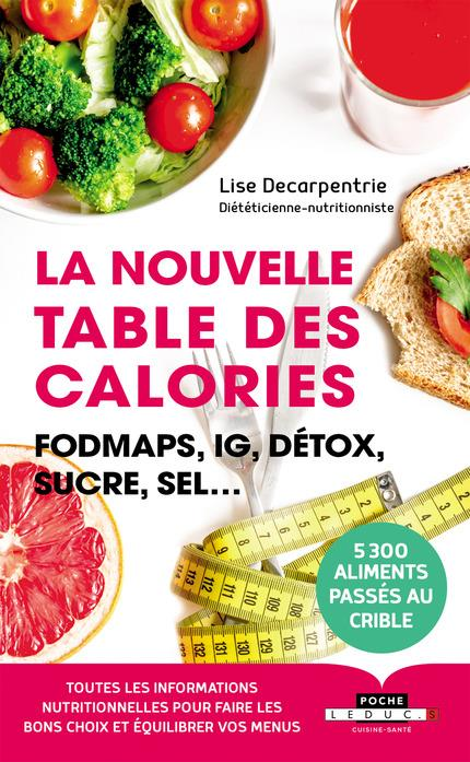 NOUVELLE TABLE DES CALORIES (LA)