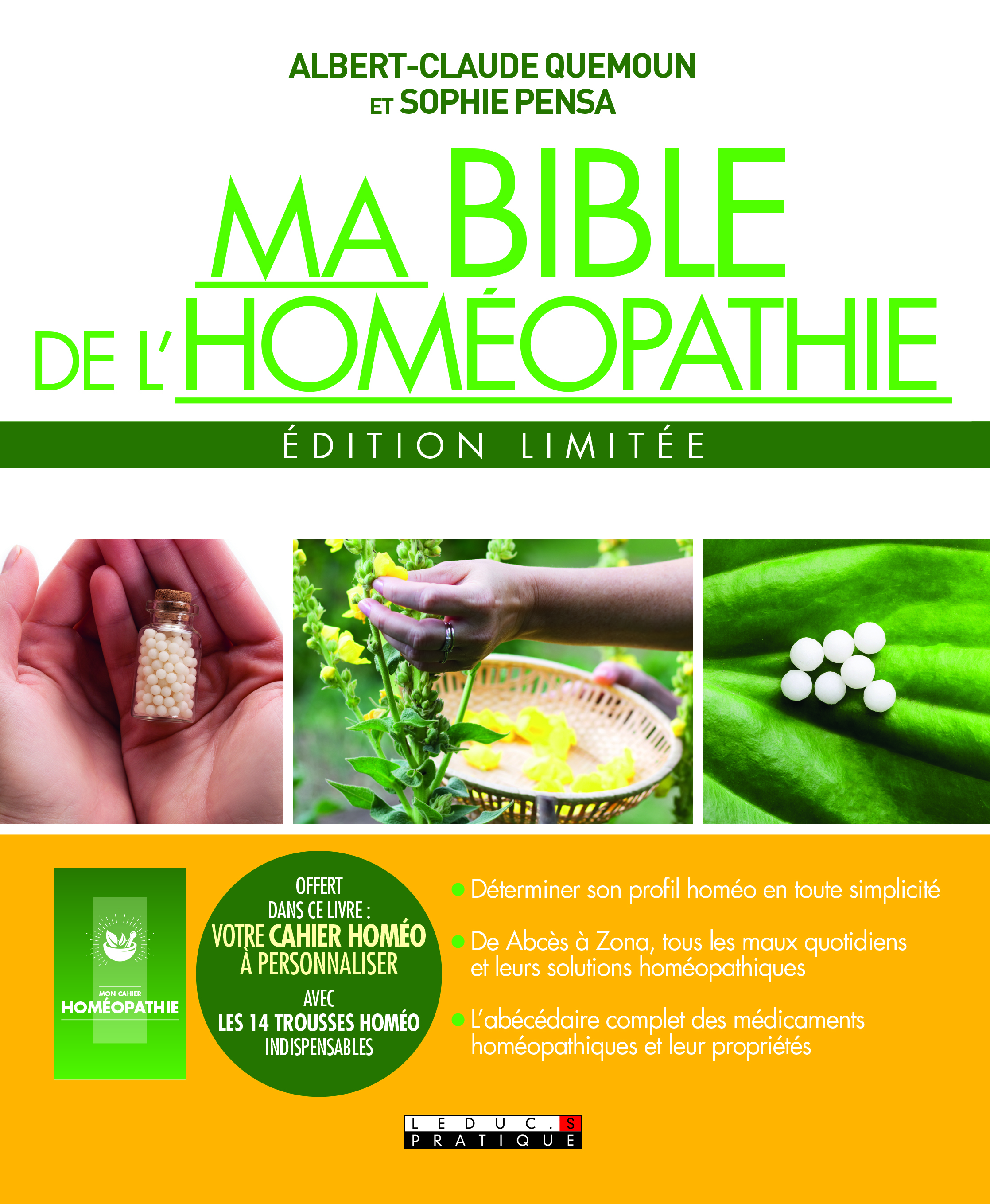 BIBLE DE L'HOMEOPATHIE EDITION LIMITEE (MA)