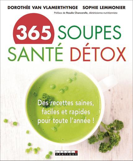 365 SOUPES SANTE DETOX