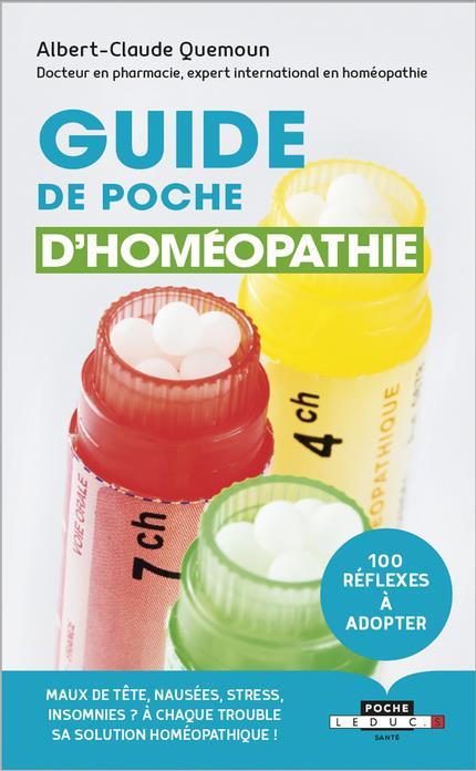 GUIDE DE POCHE D'HOMEOPATHIE