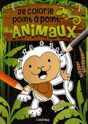 JE COLORIE POINT A POINT ANIMAUX