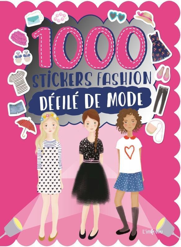 1000 STICKERS FASHION DEFILE DE MODE