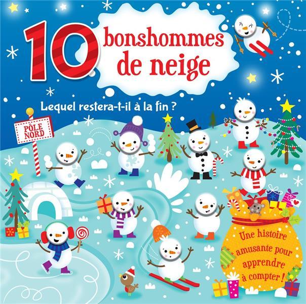 10 BONSHOMMES DE NEIGE