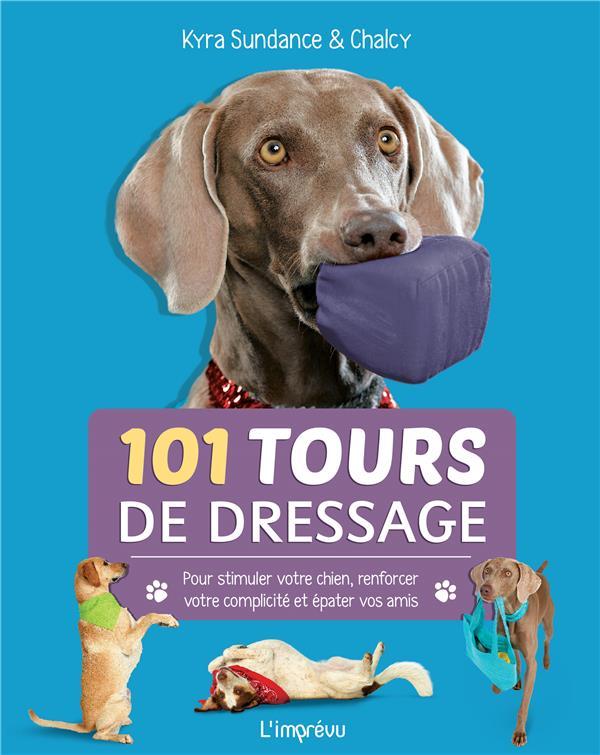 101 TOURS DE DRESSAGE. POUR STIMULER VOTRE CHIEN, RENFORCER VOTRE COMPLICITE ET EPATER VOS AMIS.