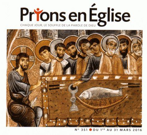 PRIONS POCHE 351 MARS 2016