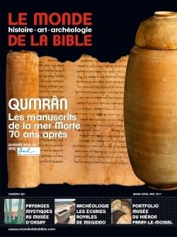 MONDE DE LA BIBLE N 220 MARS-MAI 2017