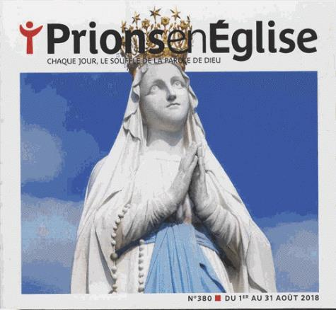 PRIONS POCHE - AOUT 2018 N  380