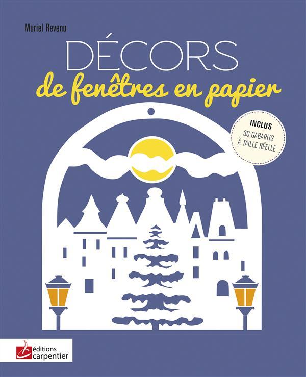 DECORS DE FENETRES EN PAPIER