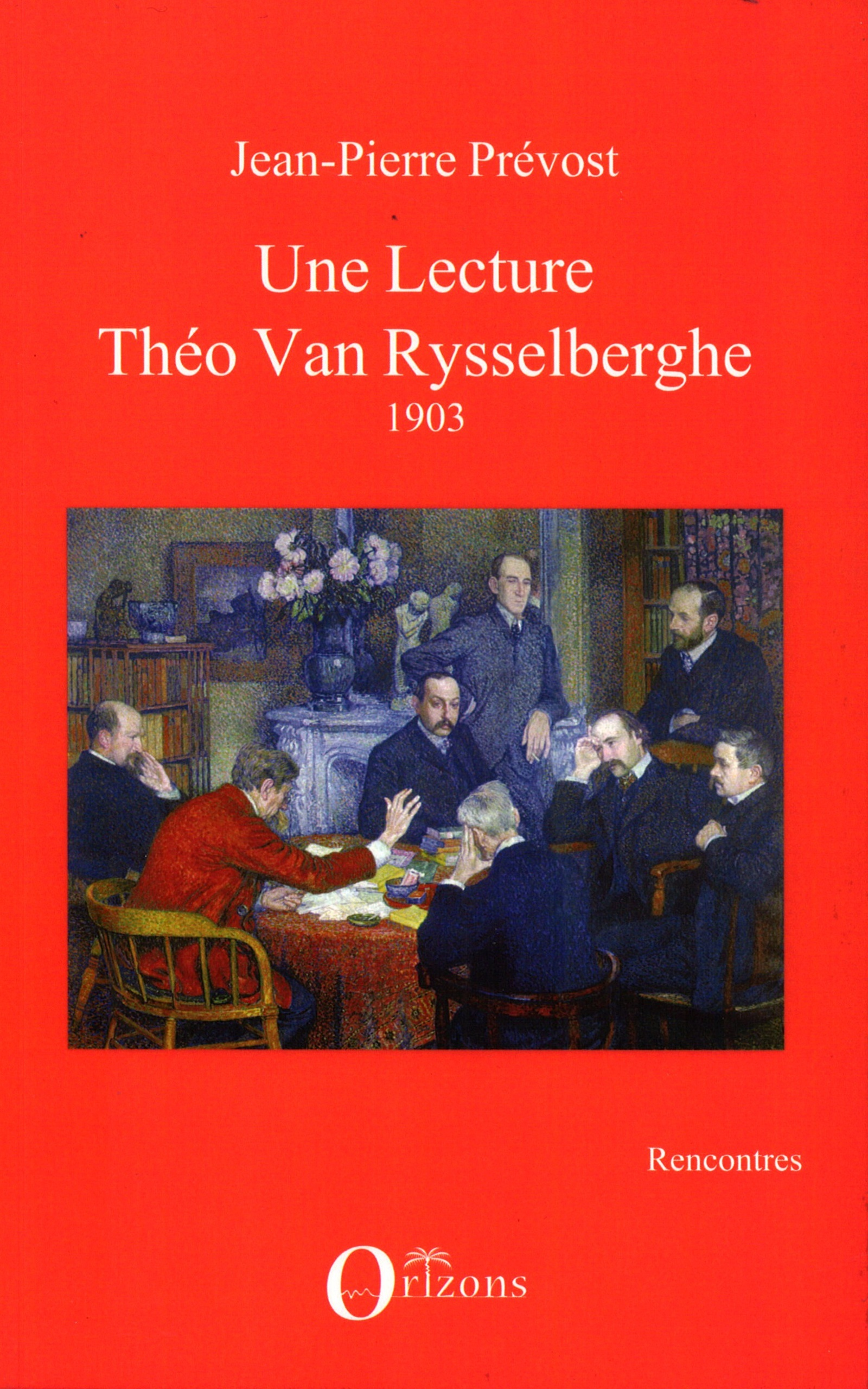 UNE LECTURE - THEO VAN RYSSELBERGHE - 1903