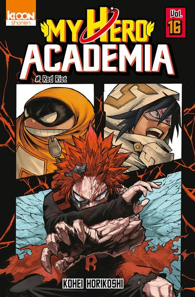 MY HERO ACADEMIA T16 - VOL16