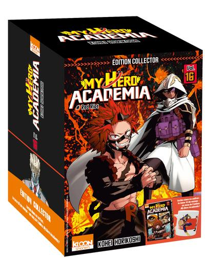 MY HERO ACADEMIA T16 - EDITION COLLECTOR - VOL16