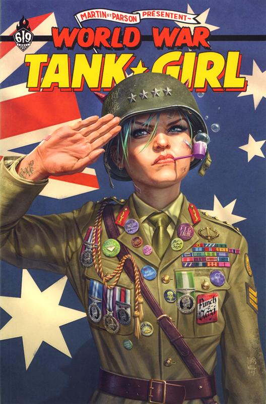 TANK GIRL : WORLD WAR TANK GIRL