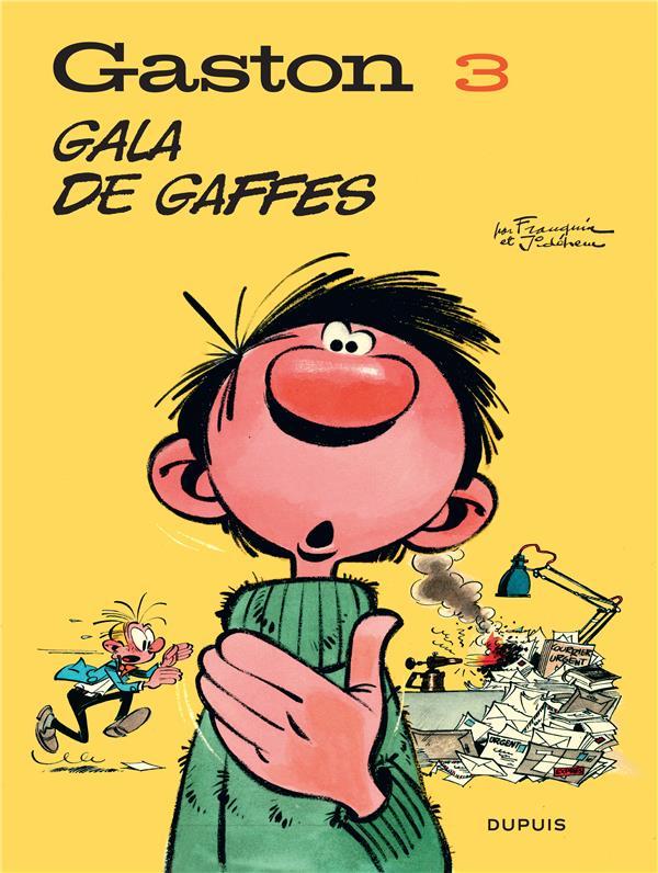 GASTON (EDITION 2018) T3 GASTON (EDITION 2018) - TOME 3 - GALA DE GAFFES (EDITION 2018)
