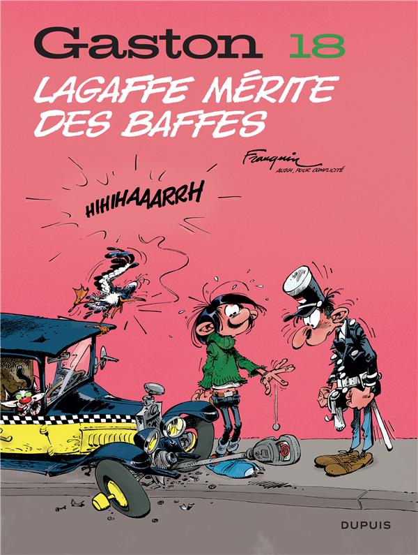 GASTON (EDITION 2018) T18 GASTON (EDITION 2018) - TOME 18 - LAGAFFE MERITE DES BAFFES (EDITION 2018)