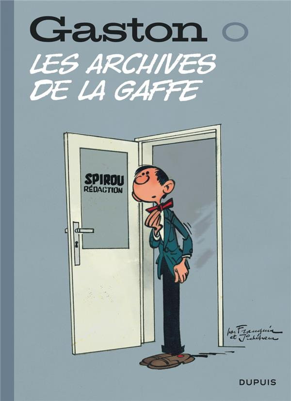GASTON (EDITION 2018) - TOME 0 - LES ARCHIVES DE LA GAFFE