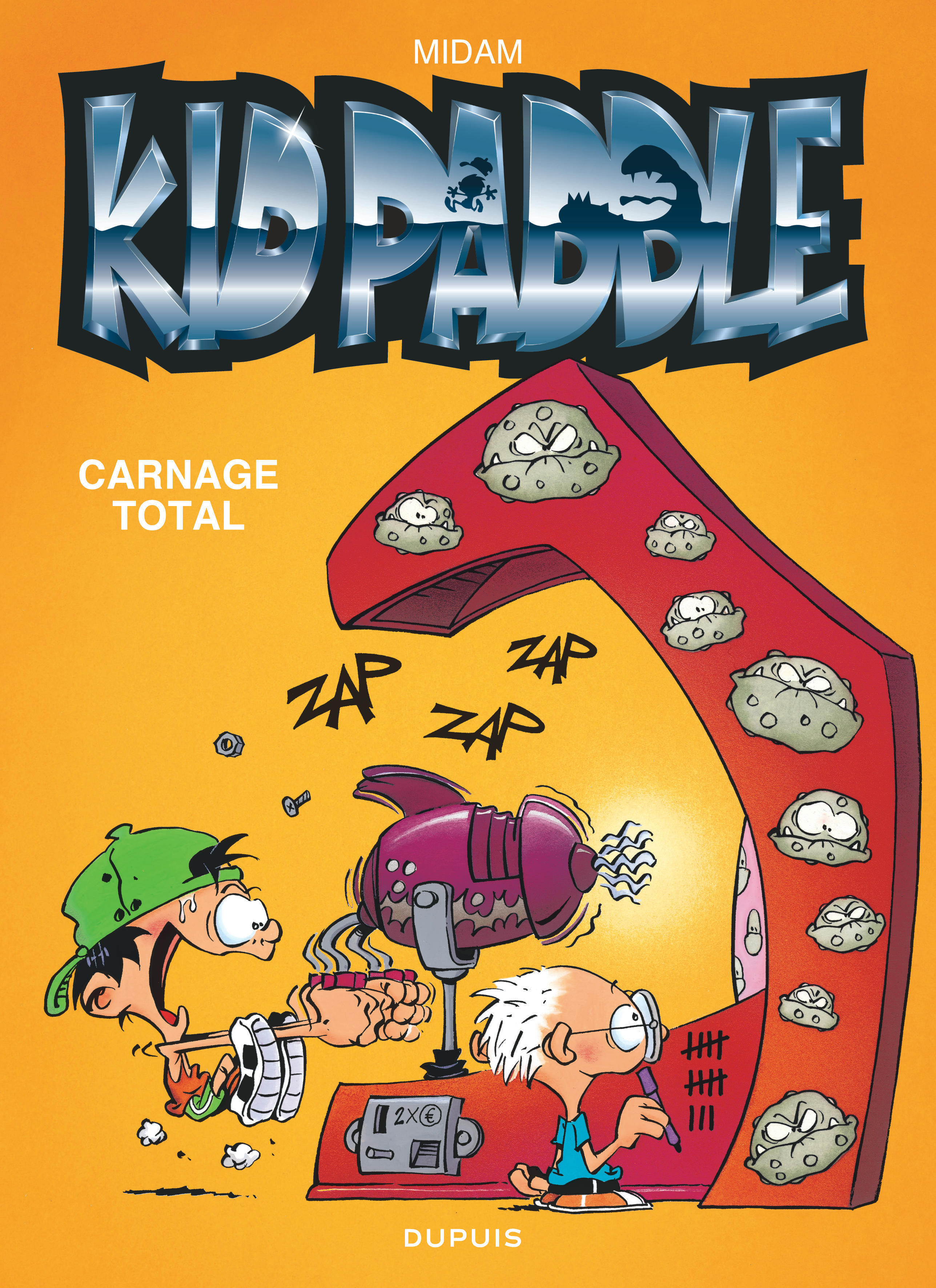 KID PADDLE - TOME 2 - CARNAGE TOTAL (OPE ETE 2018)