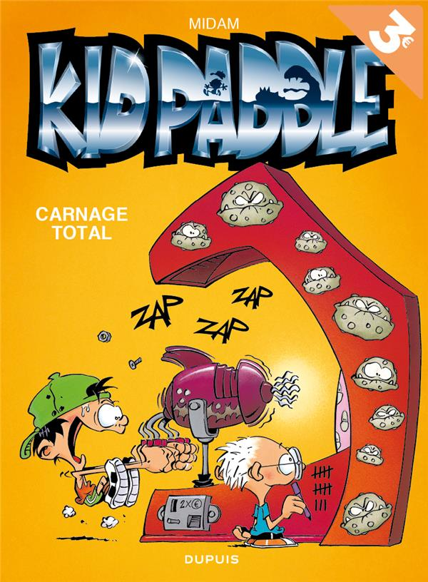 KID PADDLE T2 KID PADDLE - TOME 2 - CARNAGE TOTAL (OPE ETE 2018)