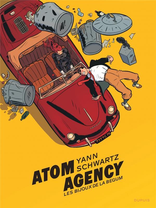ATOM AGENCY - TOME 1 - LES BIJOUX DE LA BEGUM N/B (GD FORMAT)