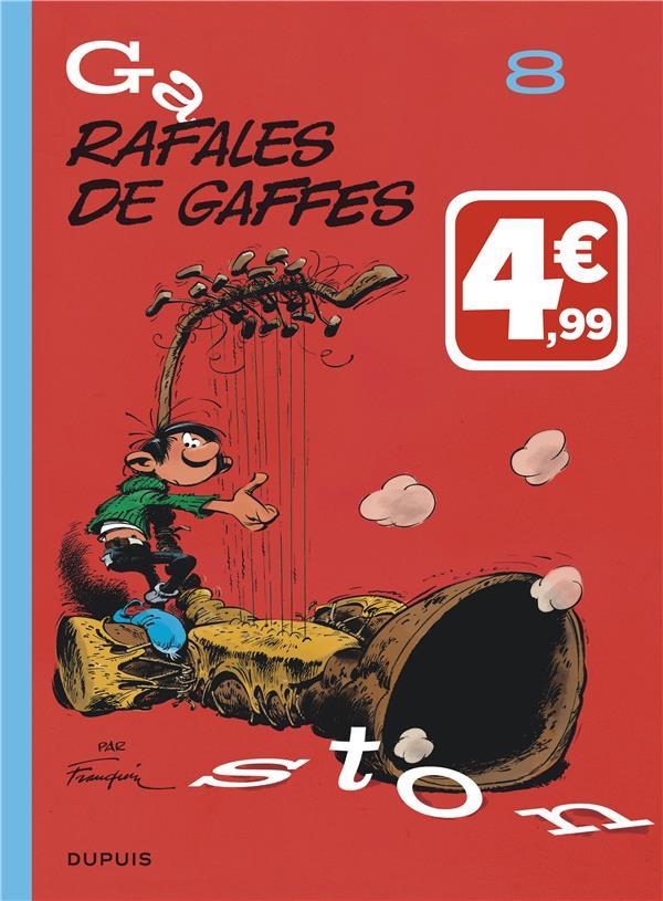 GASTON (EDITION 2018) - TOME 8 - RAFALES DE GAFFES (INDISPENSABLES 2019)