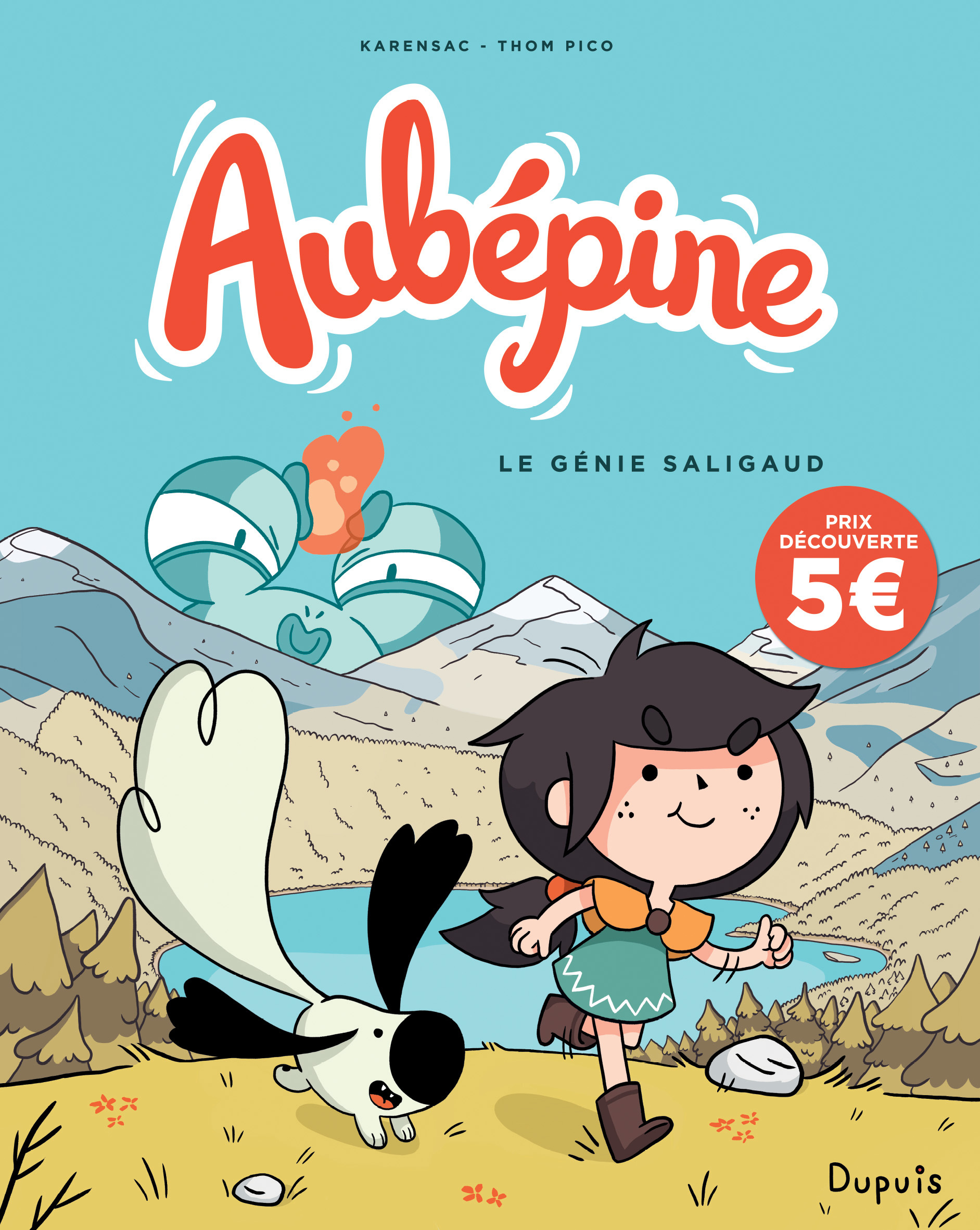 AUBEPINE - TOME 1 - LE GENIE SALIGAUD (PRIX REDUIT)