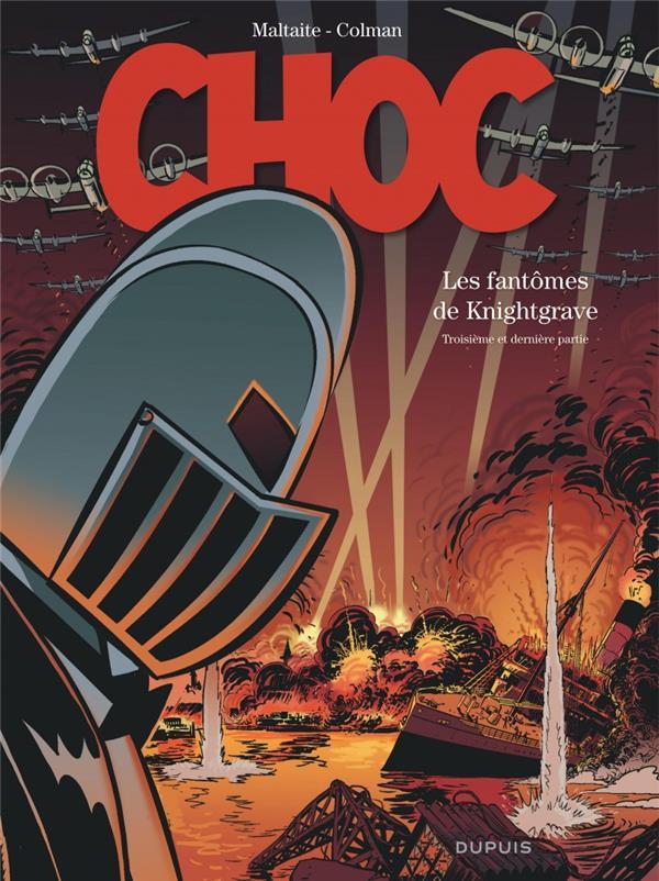 CHOC - TOME 3 - LES FANTOMES DE KNIGHTGRAVE (TROISIEME PARTIE) (EDITION SPECIALE)