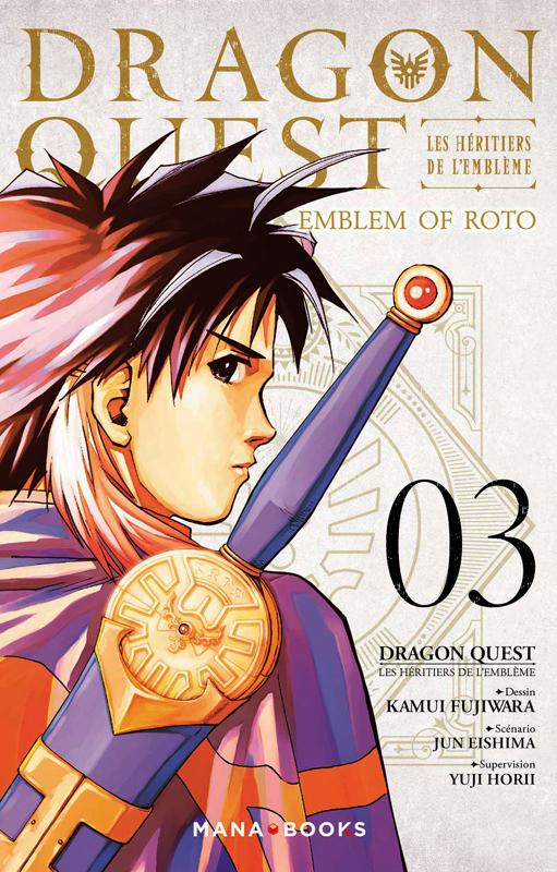 DRAGON QUEST - LES HERITIERS DE L'EMBLEME T03 - VOLUME 03