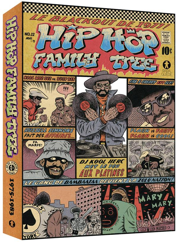 COFFRET HIP HOP FAMILY TREE T1&2 1975-1983