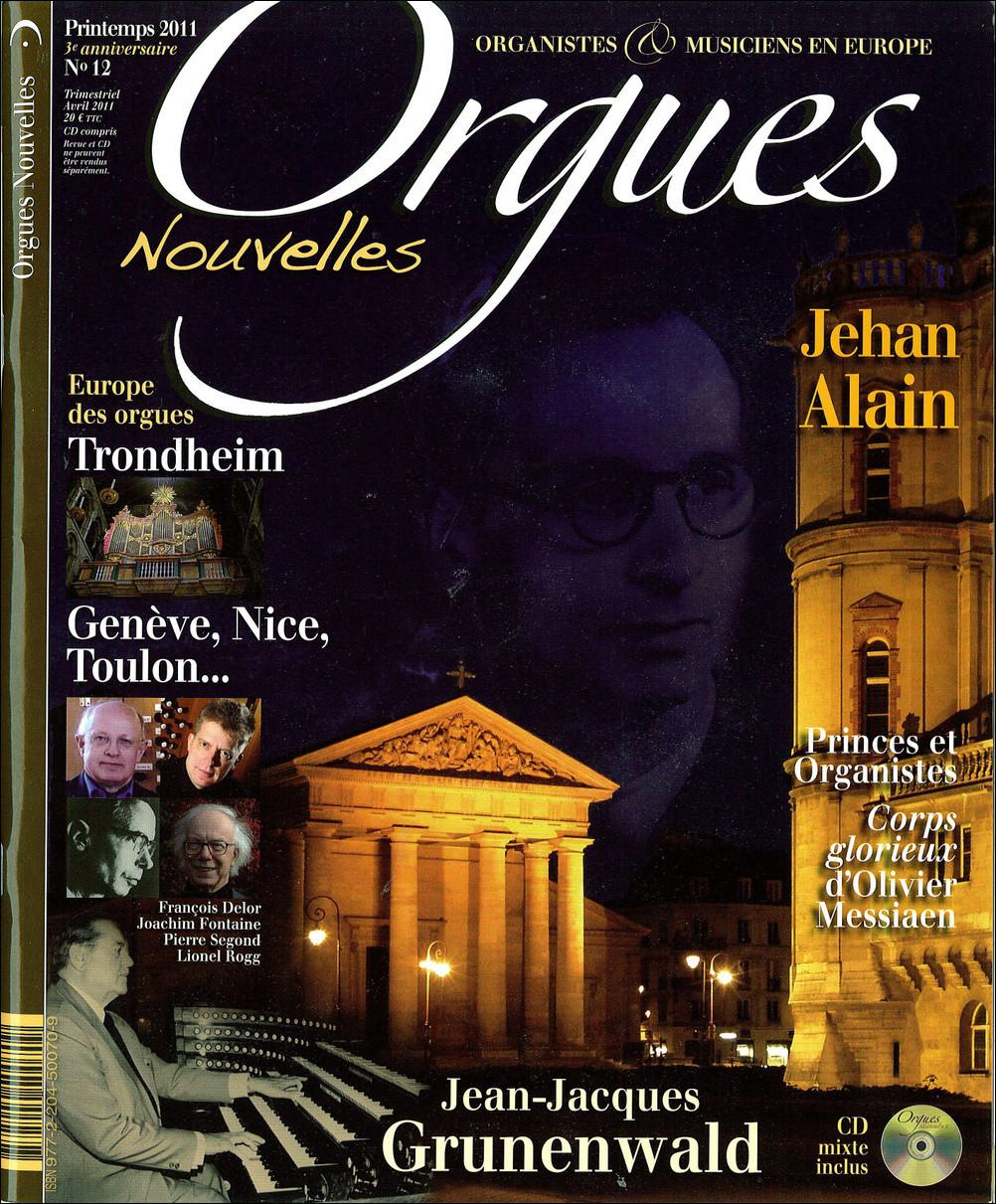ORGUES NOUVELLES N  12 (PRINTEMPS 2011)