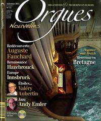 ORGUES NOUVELLES N  14 (AUTOMNE 2011)