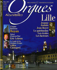 ORGUES NOUVELLES N  19 (HIVER 2013)
