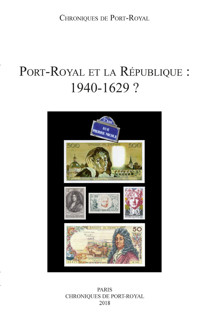 PORT-ROYAL ET LA REPUBLIQUE 1940-1629?
