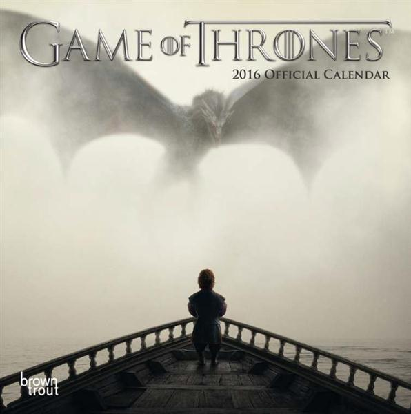 GAME OF THRONES CALENDRIER 2016