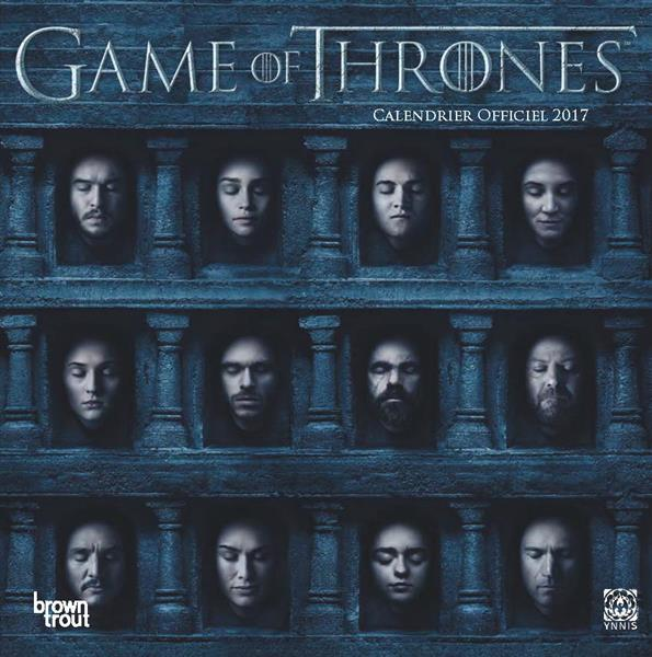 GAME OF THRONES CALENDRIER 2017