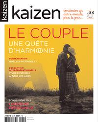 KAIZEN 33 : JUILLET AOUT 2017 - LE COUPLE UNE QUETE D'HARMONIE