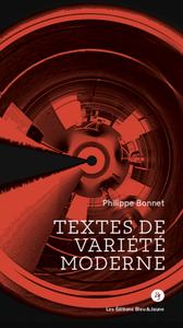 TEXTES DE VARIETE MODERNE