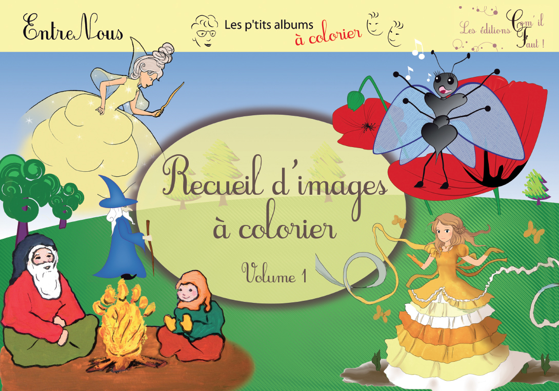RECUEIL D'IMAGES A COLORIER, VOLUME 1