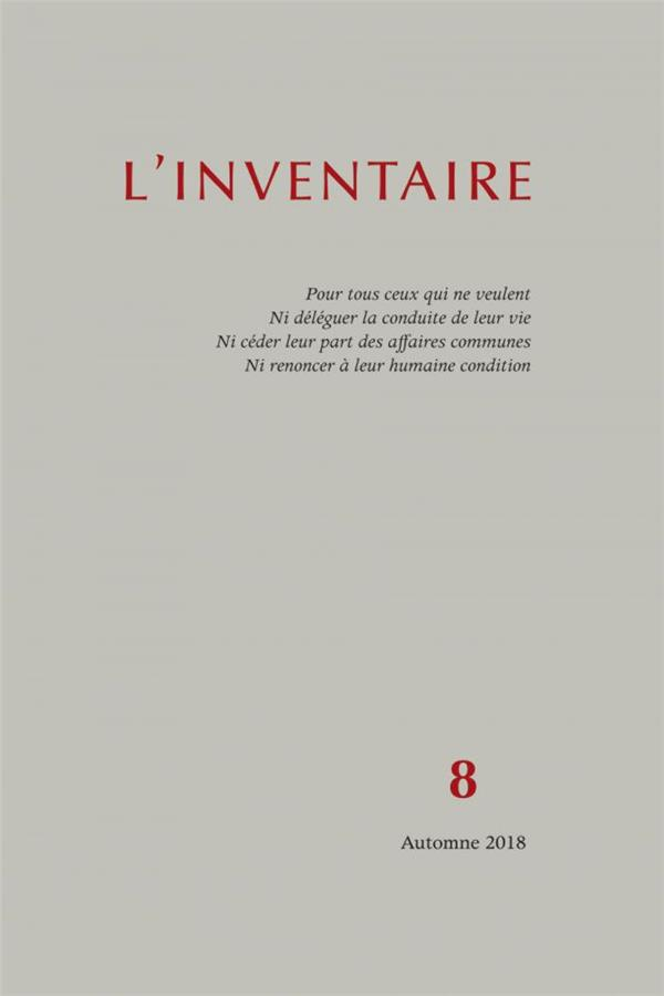 INVENTAIRE N 8