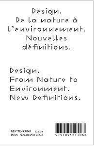 DE LA NATURE A L'ENVIRONNEMENT NOUVELLES DEFINITIONS /FRANCAIS/ANGLAIS/ITALIEN