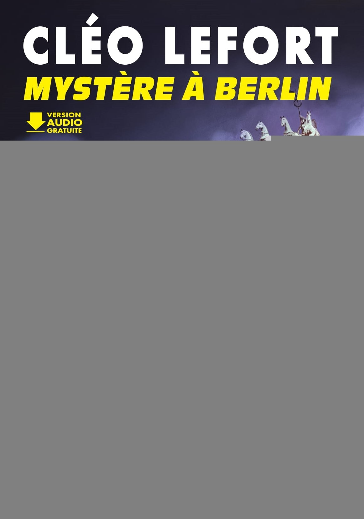 CLEO LEFORT : MYSTERE A BERLIN