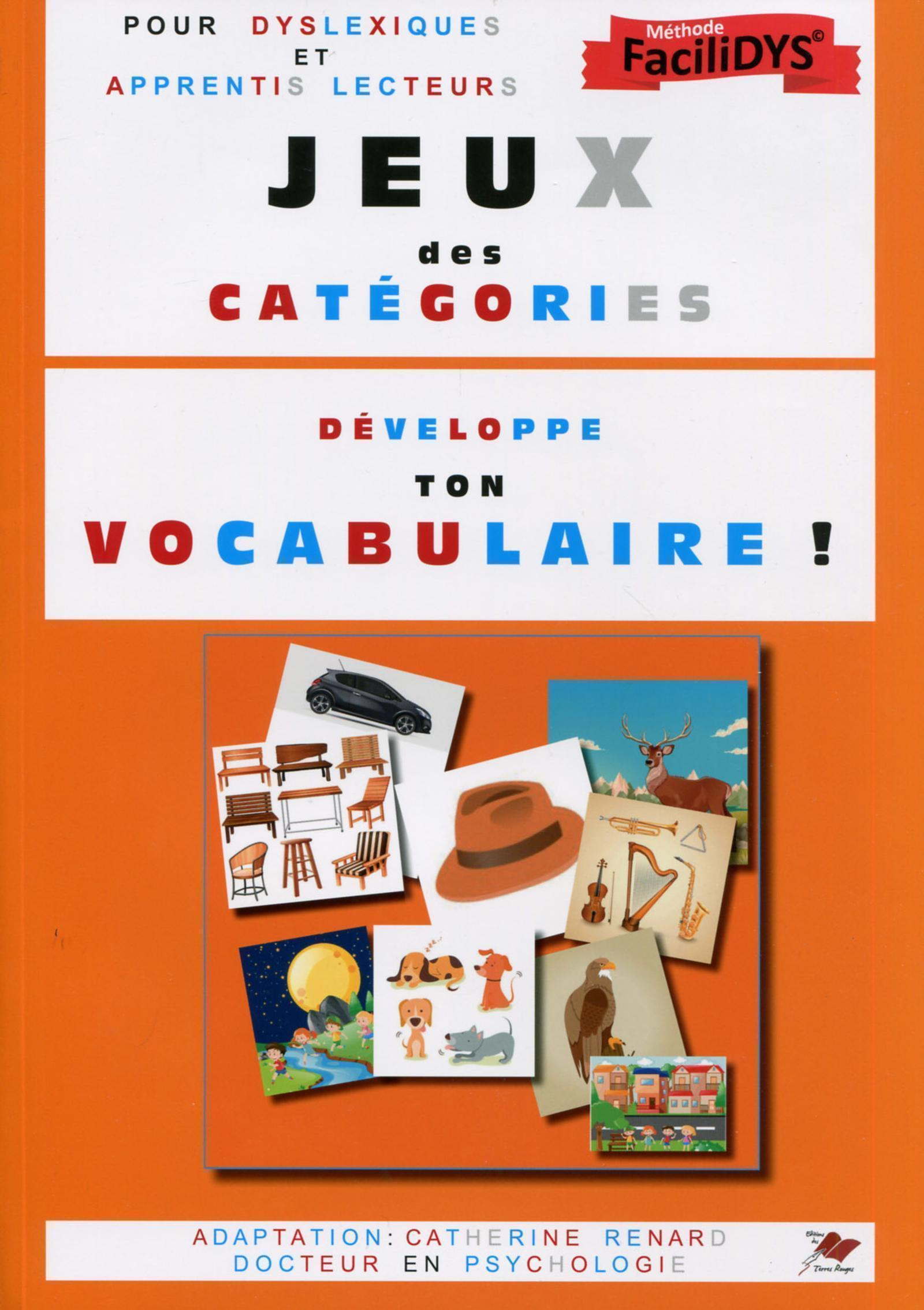 JEUX DES CATEGORIES