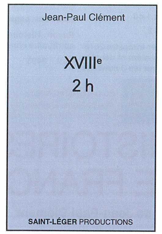 HISTOIRE DE FRANCE XVIII - AUDIOLIVRE