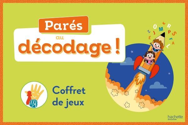 PARES AU DECODAGE CP - METHODE DE LECTURE - BOITE DE JEUX - ED. 2020