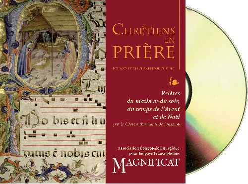 CD CHRETIENS EN PRIERE-AVENT, NOEL