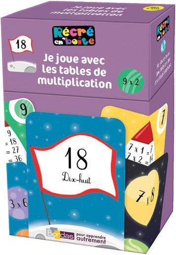 RECRE EN BOITE - JE JOUE AVEC LES TABLES DE MULTIPLICATION