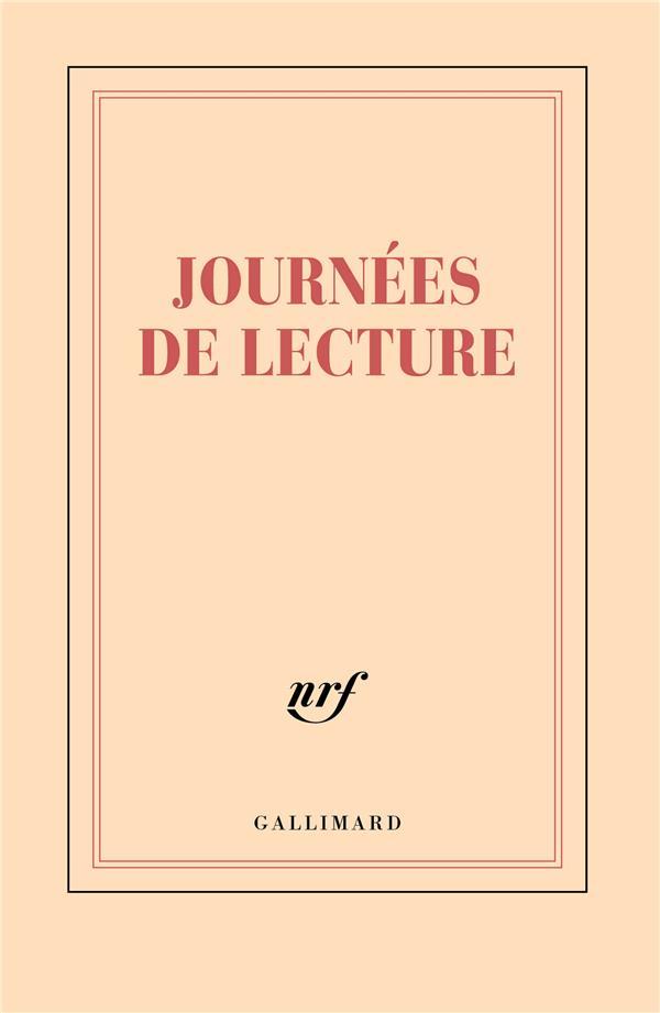 """PAPETERIE GALLIMARD CARNET LIGNE """"JOURNEES DE LECTURE"""" 11,8X18,5CM 192 P"""