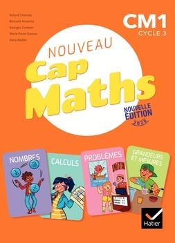 CAP MATHS CM1 ED. 2020 - MANUEL + CAHIER DE GEOMETRIE + DICO MATHS