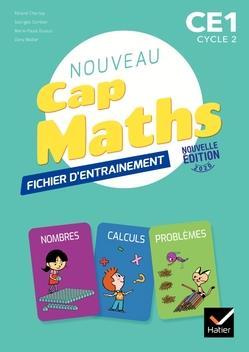 CAP MATHS CE1 ED. 2020 - FICHIER + CAHIER DE GEOMETRIE + LIVRET DE PROBLEMES