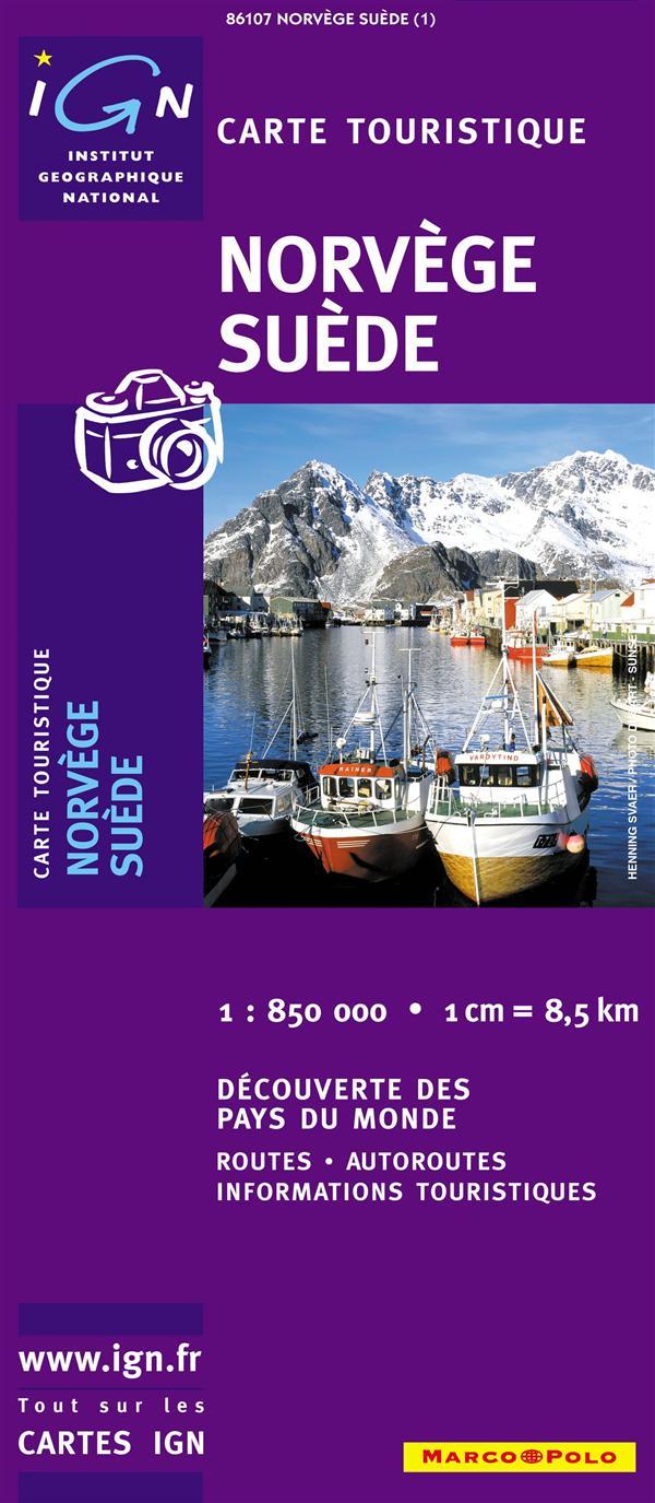 86107 NORVEGE/SUEDE  1/850.000
